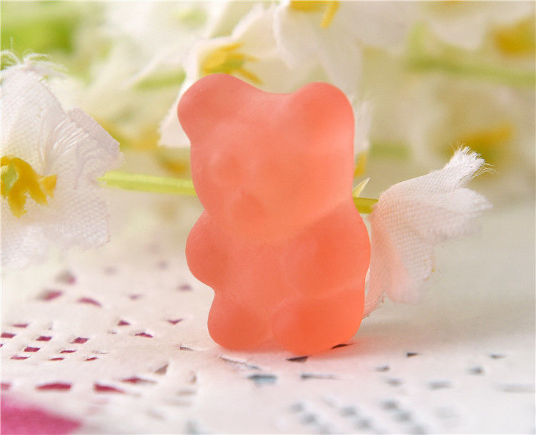 Oil Coating Bulk Multivitamin and Minerals Gummy Bears Candy With Fruits Flavor Multi Color